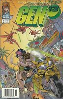 Gen 13 Comic Issue 18 Cover A First Print 1997 Brandon Choi Campbell Jim Lee