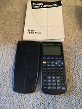 Texas Instruments TI-89 Graphing Calculator With Cover And Book