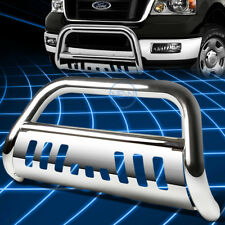 Chrome SS Bull Bar Grille Guard for 2004-2008 F150 Non-Heritage/2007+ Navigator