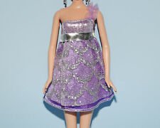 Light Purple w/ Silver Accents Party Dress Genuine BARBIE Fashion Clothes