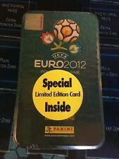 Adrenalyn XL UEFA Euro 2012 Collectors Tin - Sealed - Panini - English Edition