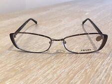 PRADA VPR 58O IAO-101 Gunmetal Grey Glasses