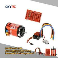 SkyRC 13.5T 2590KV 2P Motor & CS60 60A ESC & LED Program Card Combo Set E6JY