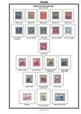 Print your own Slovakia Stamp Album, fully illustrated and annotated