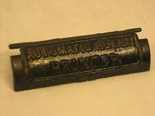 "Antique Cast Iron Automatic Rotary Printer No. 3 Cover Only ""Look"""