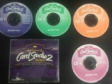 Hallmark cd web desktop publishing software ebay hallmark card studio 2 deluxe pc cd rom 4 disc set sierra 2000 for m4hsunfo