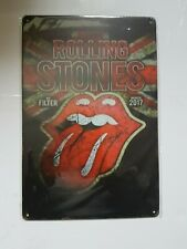 Rolling Stones Vintage Style Metal Sign Plaque Poster British Punk Rock Retro