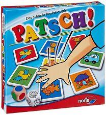 Reaktionsspiel Patsch Kinderspiel Noris Spiele Kindergarten Spiel Karten Spass
