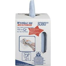 More details for wypall x60 blue towel roll in box