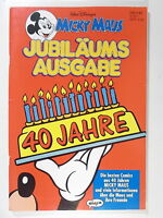 MICKY MAUS JUBILÄUMS AUSGABE 40 Jahre ( Ehapa Verlag 1991 )