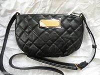NWT MARC BY MARC JACOBS Crossbody - New Q Quilted Percy Purse Handbag Black