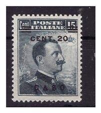 ISOLE EGEO  CASO  1916 -  Centesimi 20 su 15  NUOVO **