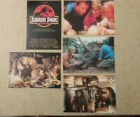 5 carte postale  cinema film Jurassic Park