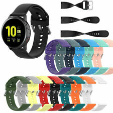 For Samsung Galaxy Watch Active 2 Silicone Replacement Watch Band Wrist Strap