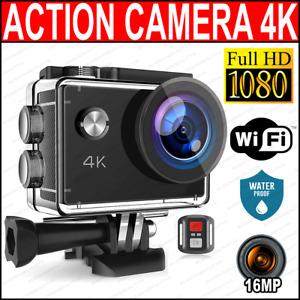Pro Cam 4K SPORT WIFI ACTION CAMERA ULTRA HD VIDEOCAMERA SUBACQUEA GOPRO DST