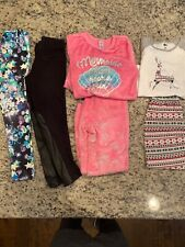 Girls Clothing Lot Size 8  - JCrew CrewCuts Faux Leather Pants, Justice Leggings