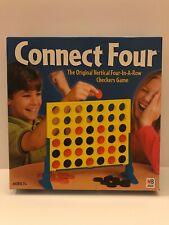 Milton Bradley CONNECT FOUR Vertical 4-in-a-Row Checkers Game ~ 2002 ~ Complete!