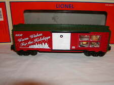 Lionel 6-25061 Holiday 2008 Christmas Box Car O 027 Boxcar Mint & Carton good