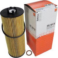 Original MAHLE / KNECHT Ölfilter OX 164D Öl Filter Oil