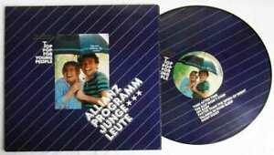 LP Picture Disc Top Pop for Young People Allianz Programm für junge Leute 1984