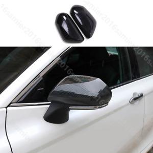 for toyota Avalon 2019 Carbon fiber grain Rear View Side Mirror Cover Trim