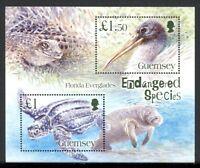 Guernsey MiNr. Block 41 postfrisch MNH bedrohte Tierarten (RS1509