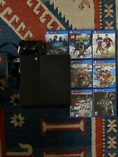playstation 4 With Camera, Controller And Games