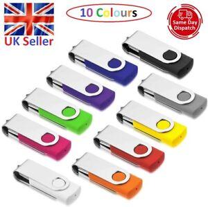 USB 2.0 High Speed 1,2,4,8,16,32GB Memory Stick Flash Pen Thumb Key Stick PC/Mac