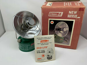 Brand New Coleman 519 Radiant Heater January 1982 NOS