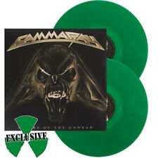 Gamma Ray Empire Of The Undead Vinyl Lp Green Vinyl Limited to 300