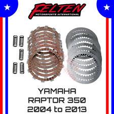 Clutch Friction Plate Set For 2005 Yamaha YFM350 Raptor ATV~Pro X 16.S23048