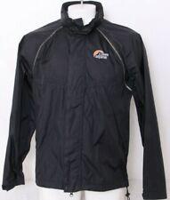 Lowe Alpine Triple Point Black Packable Hood Full Zip Windbreaker Jacket Men's M