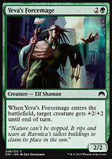 MTG 4x YEVA's FORCEMAGE - MAGO DELLA FORZA DI YEVA - ORI - MAGIC