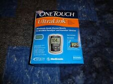 One Touch Ultra Link Medtronic Blood Glucose Monitor Meter Kit Brand New Sealed