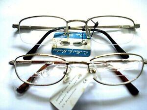 2 Styles Power +3.0  Men's BIFOCAL READING GLASSES Retro vintage fashion reader