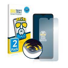 2x Fullcover für Alcatel 3L 2021 Matt Display Schutzfolie 3D Full Edge Screen
