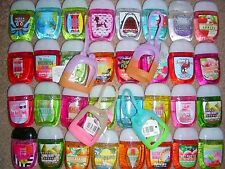 20 Bath & Body Works Anti-Bac Sanitizer PocketBac Mix 10 Hand Gel & 10 Holder