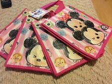Disney Tsum Tsum Sketch Stack Mickey and Minnie Small Tote Bags - 4 Pack