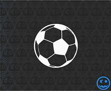 FOOTBALL SOCCER DECAL BALL STICKER FIFA 90mmW Cat Van 2Pack of Stickers.