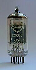Mullard ECC83 Long Plate/Goalpost Support Getter Valve/Tube Used Tested (V46)