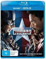 Captain America - Civil War (Blu-ray, 2016)