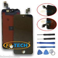 TOUCH SCREEN DISPLAY LCD RETINA SCHERMO E VETRO + FRAME PER APPLE IPHONE 5S NERO