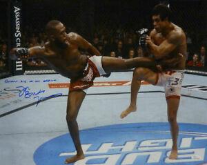 Jon Bones Jones Autographed UFC 16x20 Photo Another Day JSA 11889