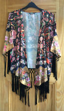 Viscose Kimono Floral Coats & Jackets for Women