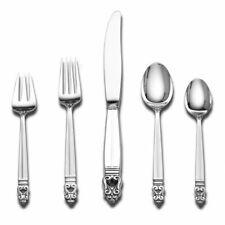 INTERNATIONAL SILVER ROYAL DANISH 5-PIECE FLATWARE PLACE SETTING DINNER