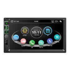 2 Din Car Radio 7 Inch Player Mp5 Press Screen Bluetooth Multimedia Fm Aux C4Z7