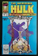 INCREDIBLE HULK #367 (1990 MARVEL) *1st DALE KEOWN ART* NM