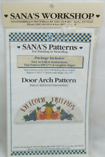 Sana's Workshop Painting or Stenciling Pattern - Door Arch Pattern
