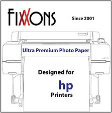 "Ultra Premium Luster Inkjet Photo Paper for Hp 36"" x 100' Roll"