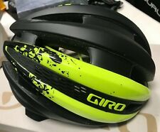 NEW Giro Synthe Road Cycling Bicycle Helmet Yellow Black Small 51-55cm w/Box